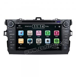 Zonteck ZK-8208T 8 inch Toyota Corolla Car Radio GPS Bluetooth DVD
